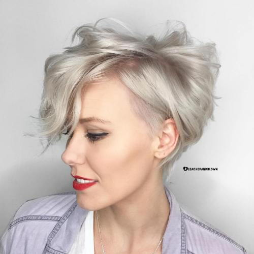 Rodet Silver Pixie for Fine Hair