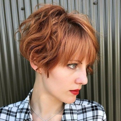 Rodet Wavy Pixie Bob with Bangs