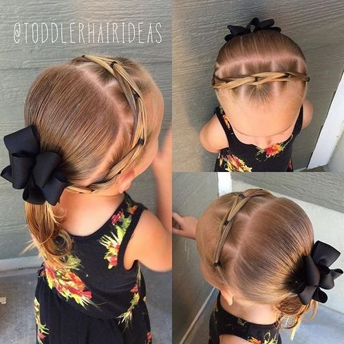 juoda toddler girl hairstyle