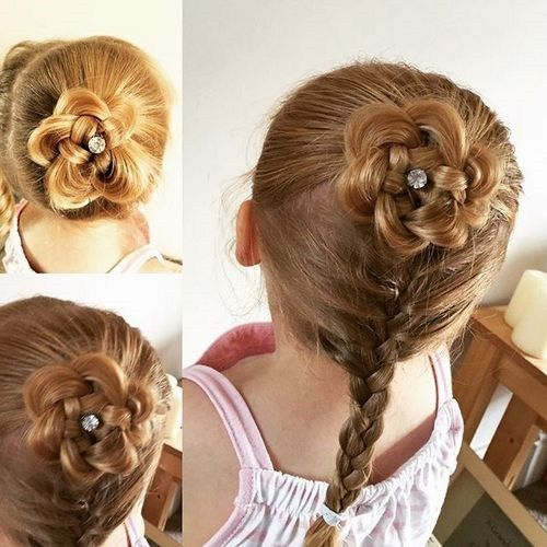 pinti hairstyle for a little girl