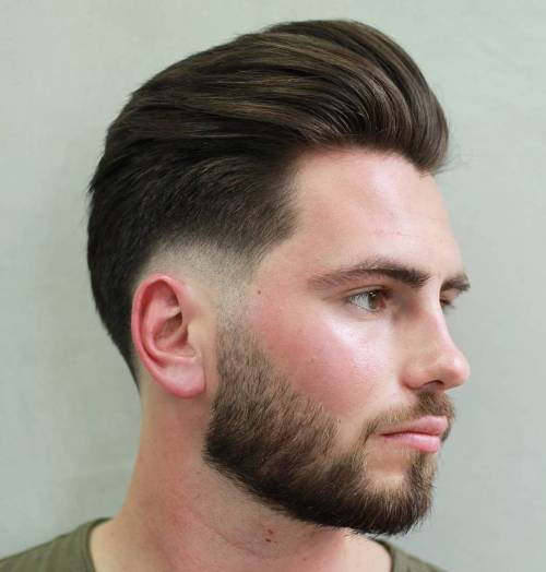 Sprogo Fade With Pompadour