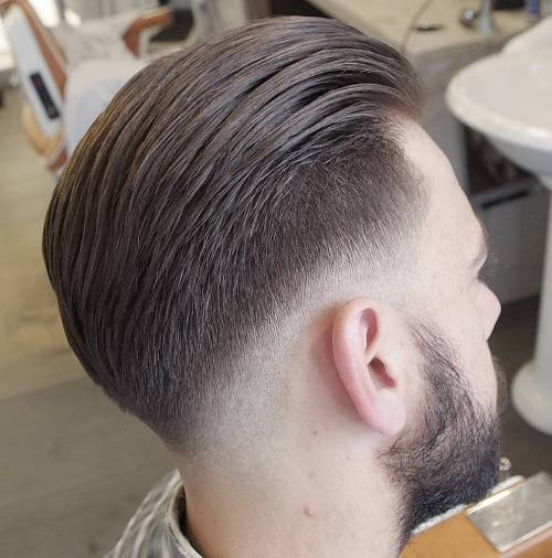 Ilgai Top Hairstyle With Taper Fade
