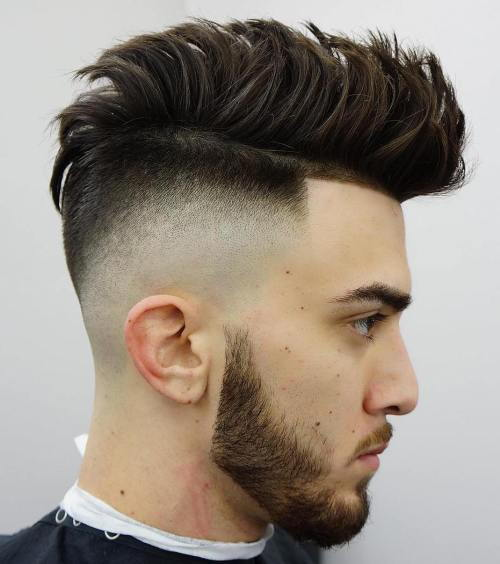 Spikiai Haircut With High Fade