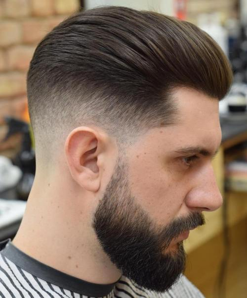 Ilgai Top Taper Fade With Beard