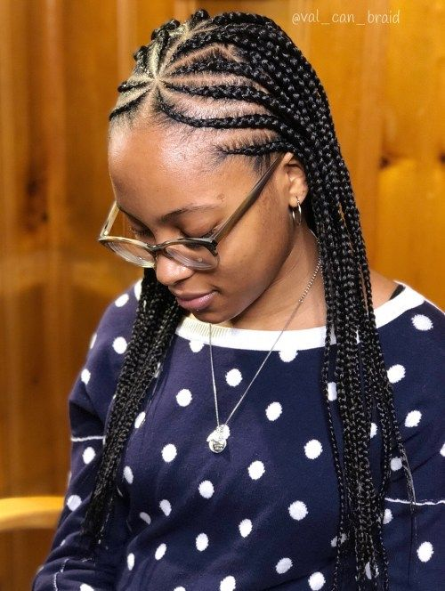 neat Cornrows On Natural Hair