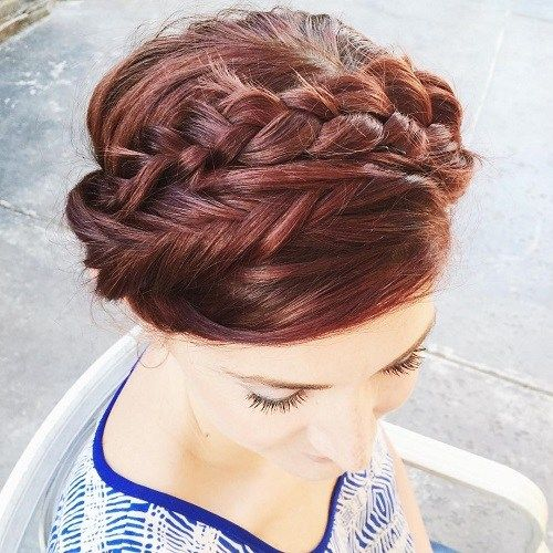 mljekarica braid with fishtail