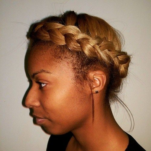 mljekarica braid for african american women