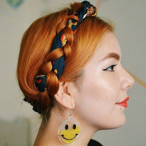 mljekarica braid for shorter hair