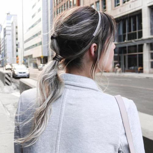 Kvailas Ponytail For Long Fine Hair