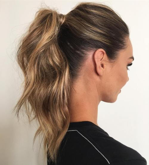 Banguotas Ponytail With A Wrap