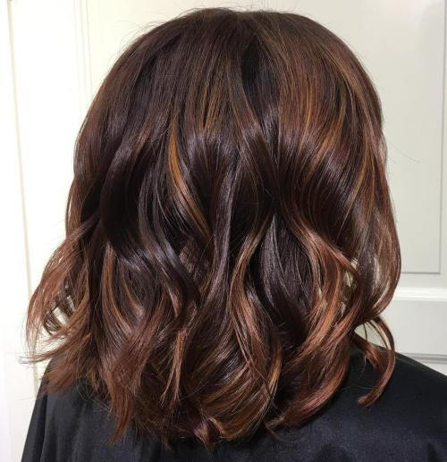 kesten Hair And Copper Balayage