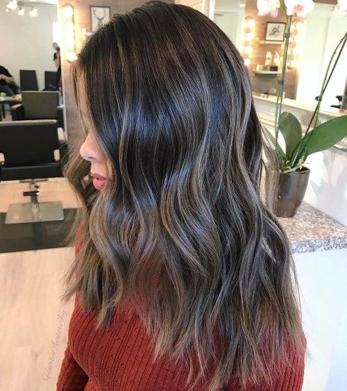 dugo Hair With Ash Gray Coloring