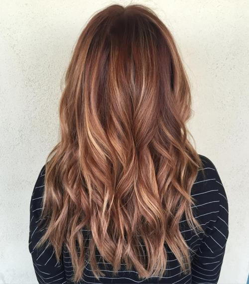 Crvena Waves And Multi Colored Highlights