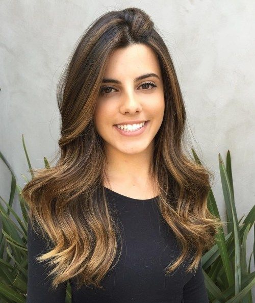 זָהוּב Brown Ombre Balayage