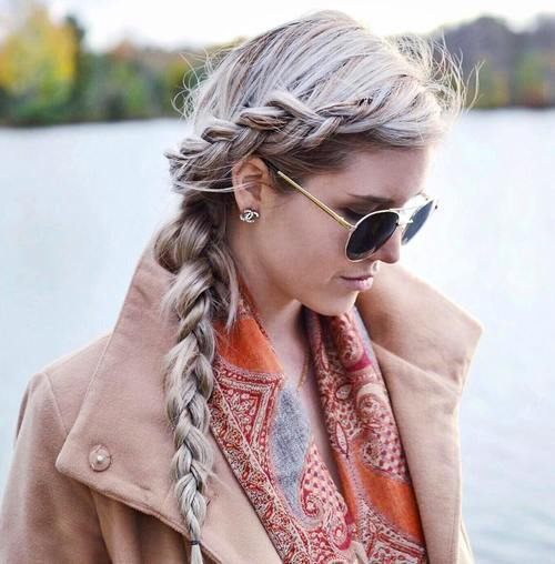 strana braid hairstyle