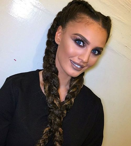 dugo two braids hairstyle