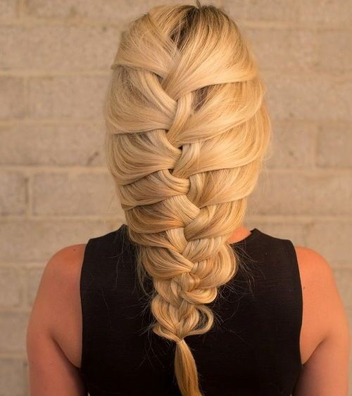 Vrlo loose French braid