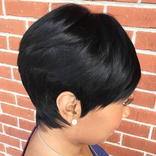 afrikansk American Pixie Sew In