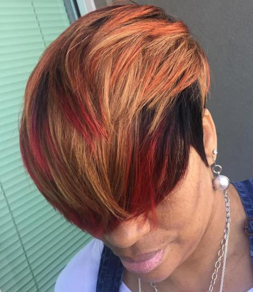 Sort And Red Pixie Weave