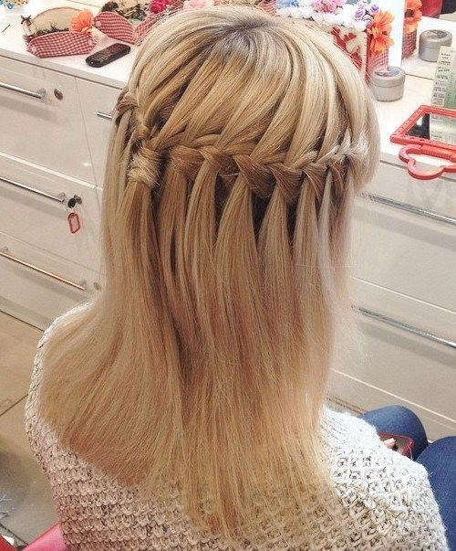 Karūną Waterfall Braid