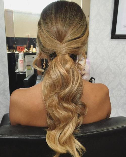 Ilgai Low Formal Ponytail