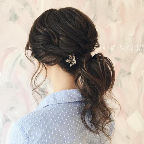 Formel Curly Pony Hairstyle