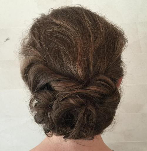 Rodet Low Updo