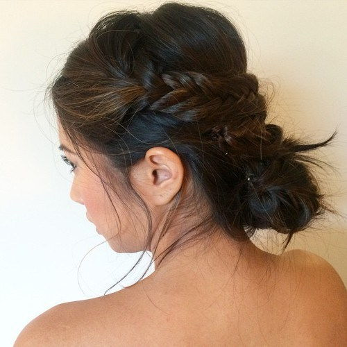 rodet braided updo
