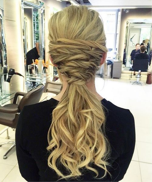 רִשְׁמִי curly ponytail for long hair