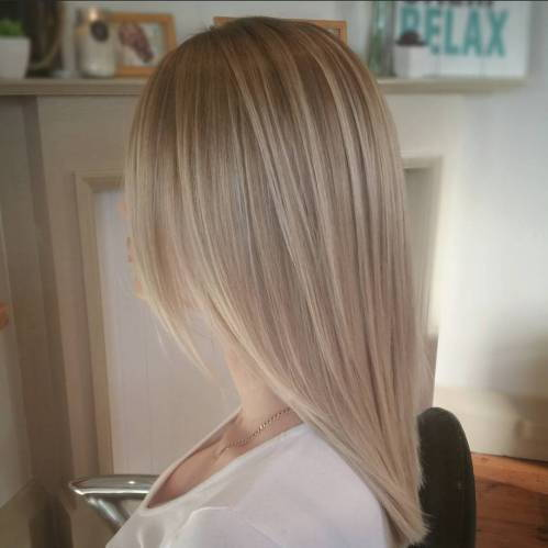 ruda blonde hair with balayage highlights