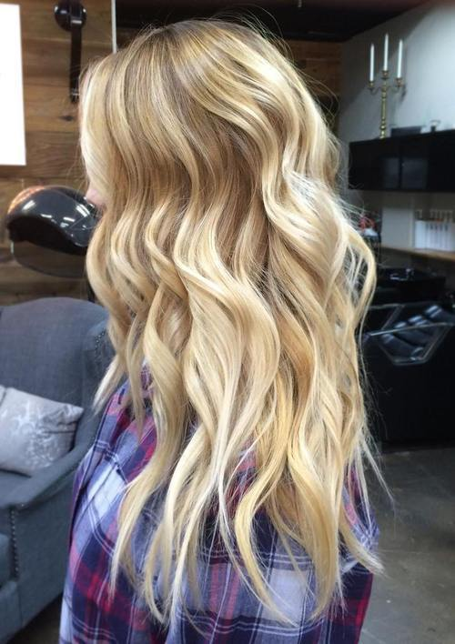 ilgai blonde hair with balayage highlights