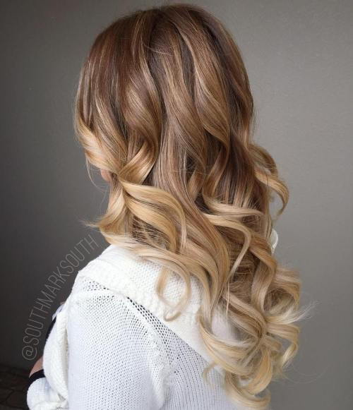 Karamelė Blonde Balayage Hair