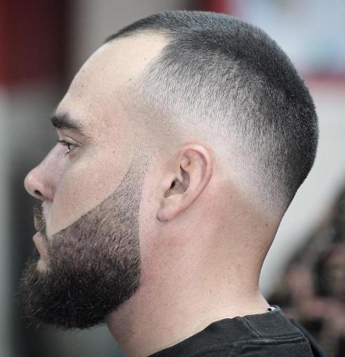 Muškarci's Extra Short Haircut With Fade