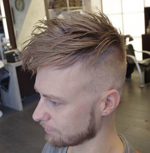 dugo top short sides edgy hairstyle for men