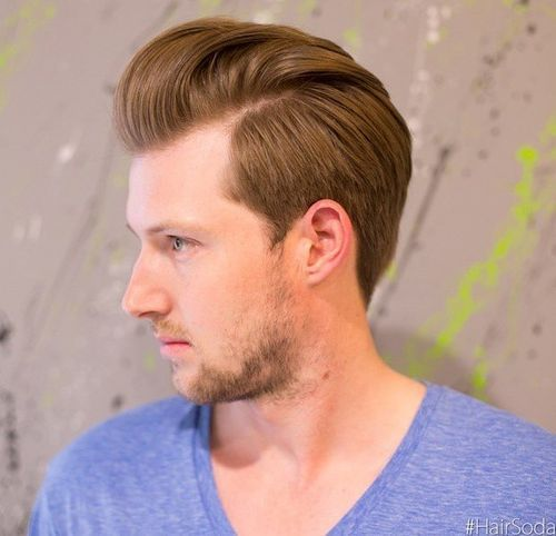 ružičasta boja hairstyle for men