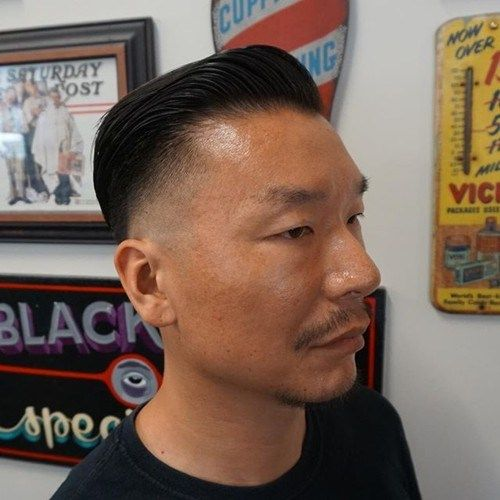 לִדעוֹך haircut for Asian men