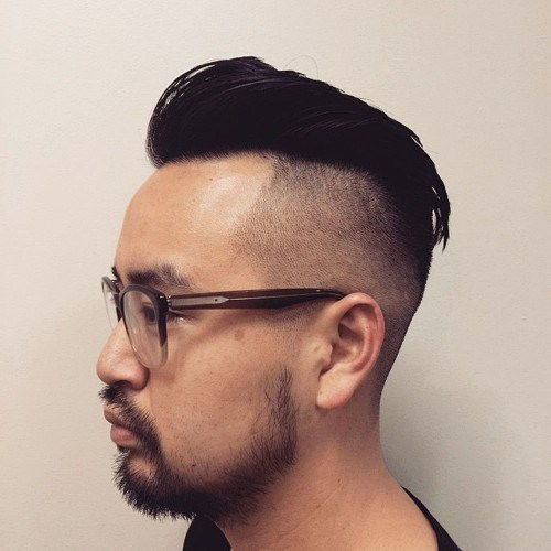 מְגוּלָח sides Asian men hairstyle