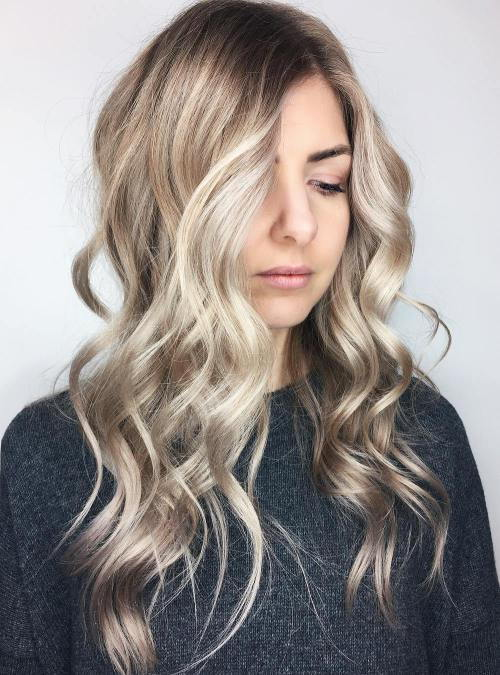 Pomije Blonde Hair With Highlights