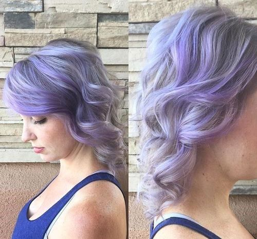 valovit pastel purple hairstyle