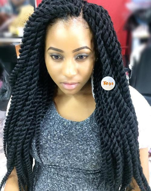 dugo Layered Crochet Twists Braids