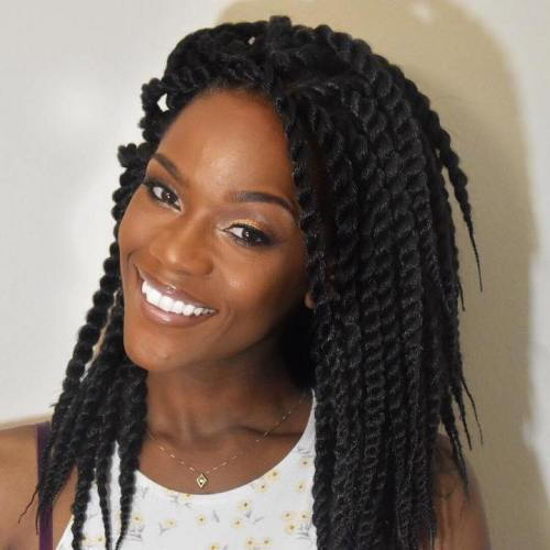Nedostatak Mid-Length Twist Braids