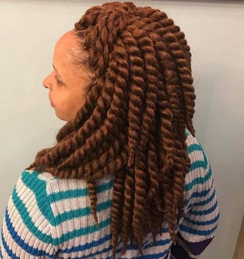 gust Layered Twists Braids