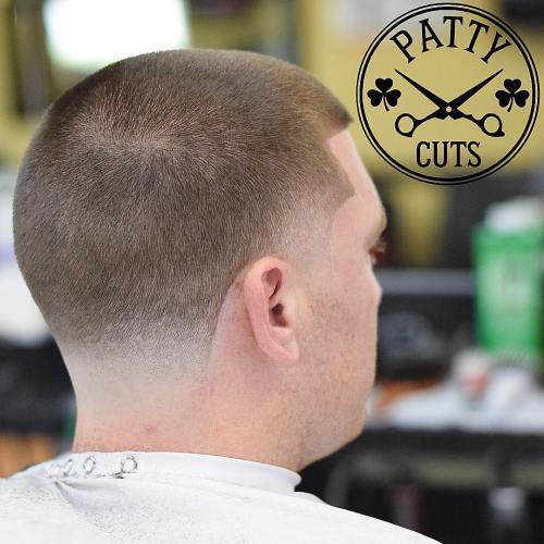 בית המקדש And Nape Fade Haircut