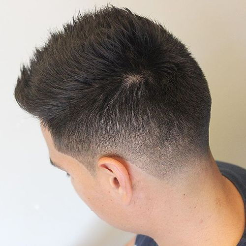 נְקוּדָה cut short haircut for men