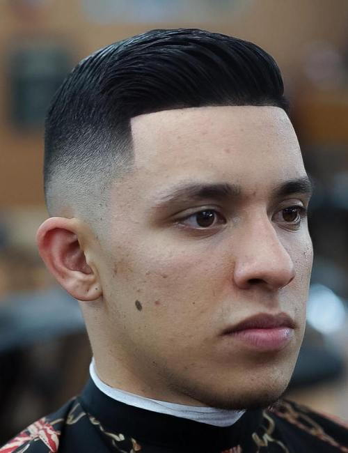 צַד Part Fade Haircut