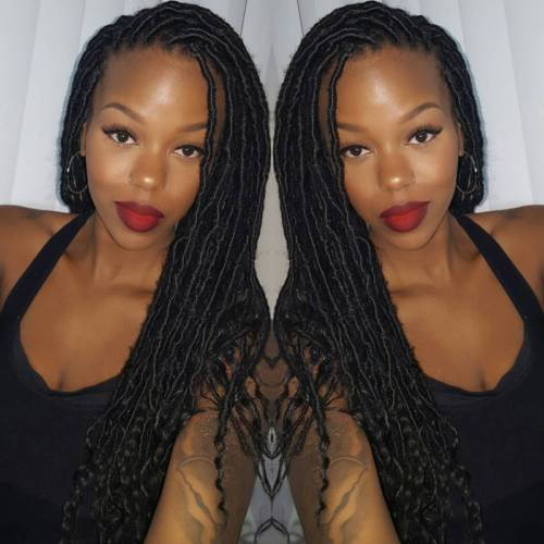 Plonas Curly Faux Locs