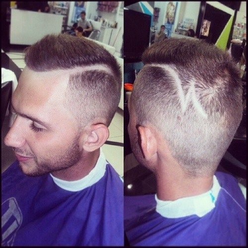 nusiskuto side part hairstyle for men