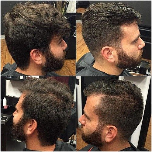 pusė part and facial hairstyle