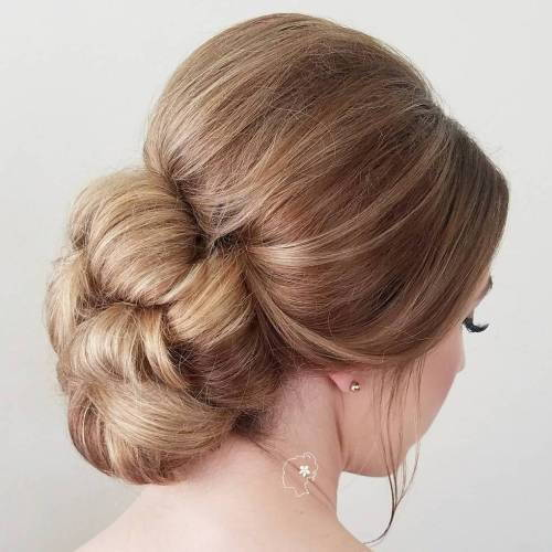 נָמוּך Formal Bun Updo