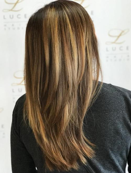 Više Layered Cut For Straight Hair